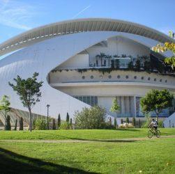 Palau de les Arts Reina Sofia , Valencia, Spain